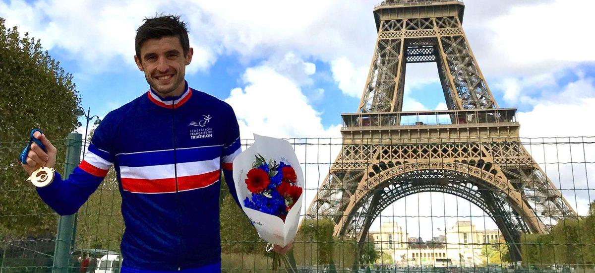 Champion de France Metz triathlon